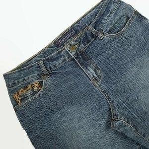 Baccini Women's Bootcut Mid Rise jeans Size 8